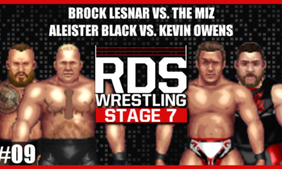 RDS Brock Lesnar The Miz Aleister Black Kevin Owens