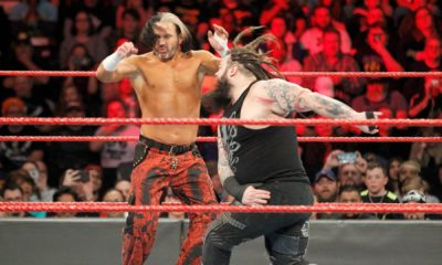 WWE Raw Bray Wyatt Matt Hardy