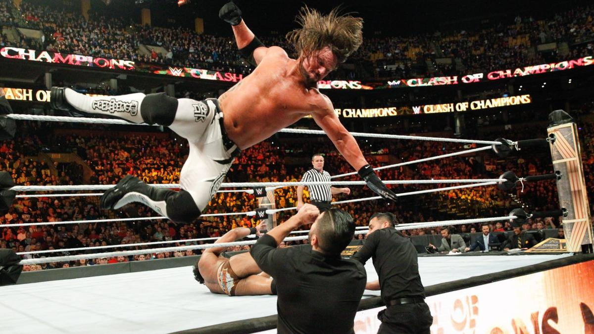 WWE AJ Styles Clash Of The Champions