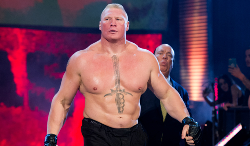 WWE Brock Lesnar Royal Rumble