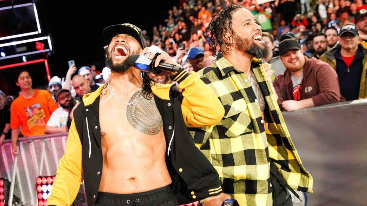 WWE Clash Of Champions The Usos