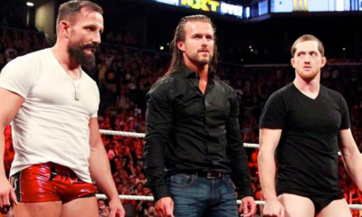 WWE NXT Bobby Fish Adam Cole Kyle O'Reilly