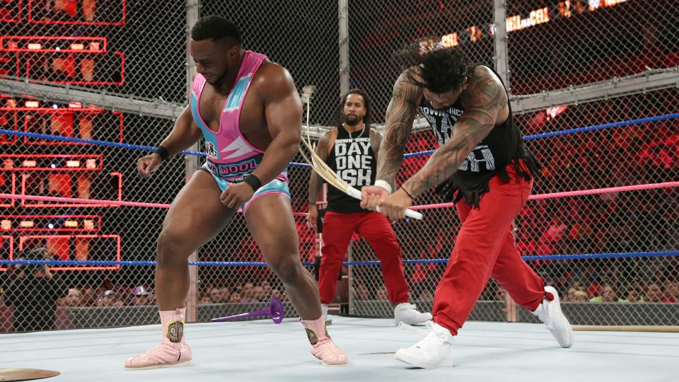 WWE New Day The Usos Hell In A Cell