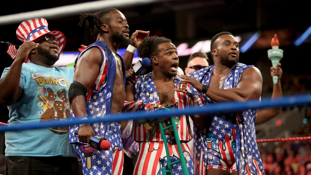 WWE Smackdown The Usos The New Day Rap Battle Promos