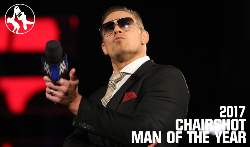 WWE The Miz Chairshot Man Of The Year