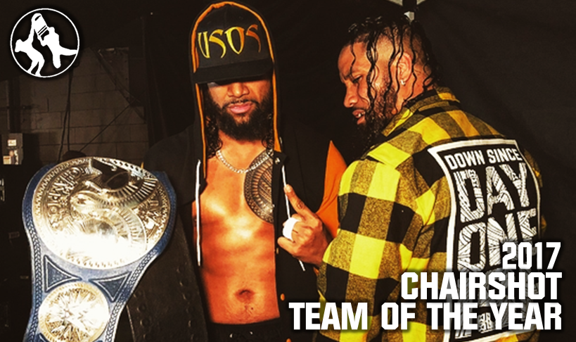 WWE The Usos Chairshot Team Of The Year