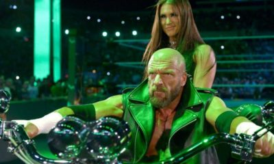 WWE Triple H Stephanie McMahon Motorcycle