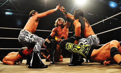 Young Bucks Kenny Omega Bullet Club