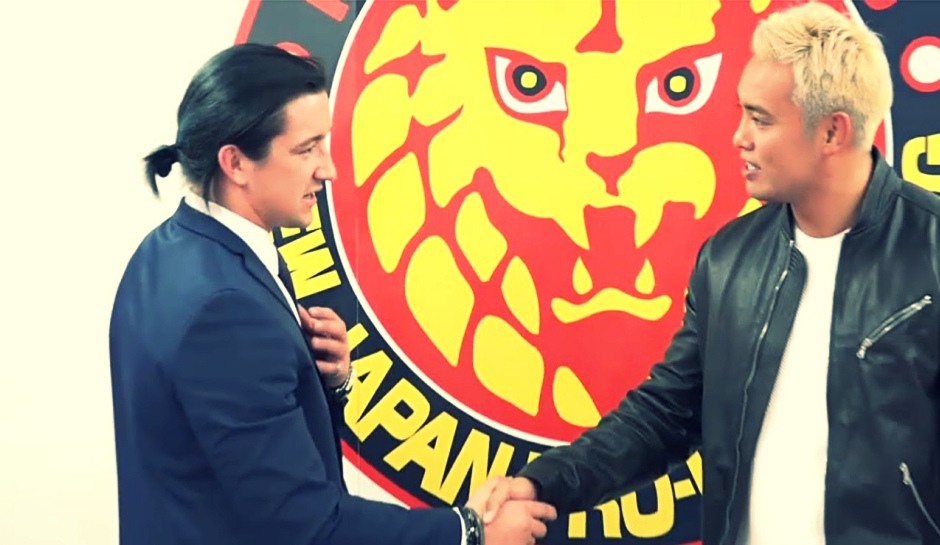 Switchblade' Jay White Joins NJPW Group Chaos To End Bullet