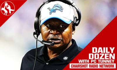PC Daily Dozen NFL Coaching Carousel Jim Caldwell Detroit Lions
