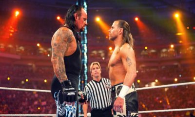 Undertaker Shawn Michaels