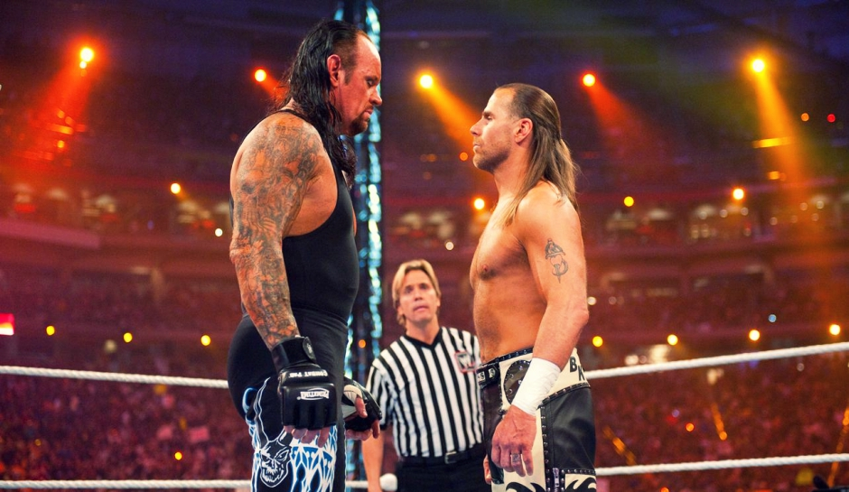 Wwe news all legends currently confirmed for wwe raw 25 the chairshot undertaker shawn michaels m4hsunfo