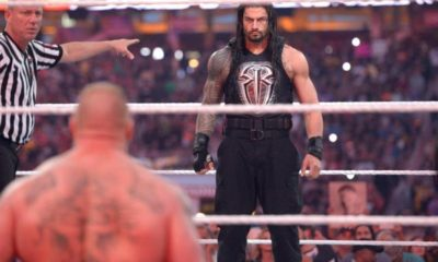 WWE Brock Lesnar Roman Reigns WrestleMania 31