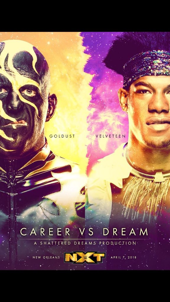 WWE Goldust Velveteen Dream