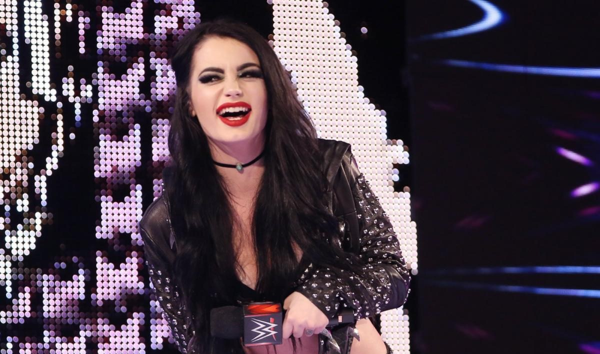 WWE Paige Injury