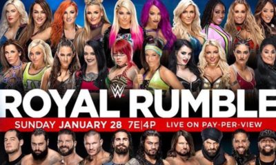 2018 WWE Royal Rumble Poster