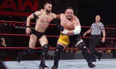 WWE Superstar Samoa Joe Finn Balor
