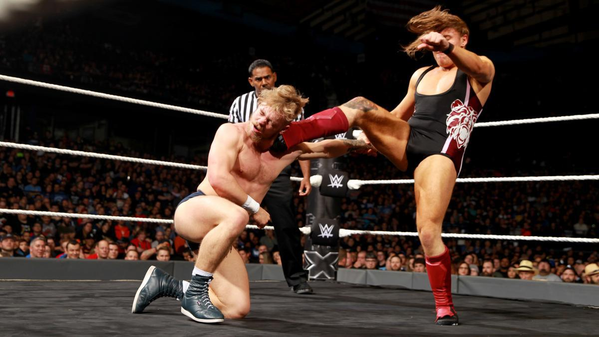 WWE Tyler Bate Pete Dunne Match Of The Year