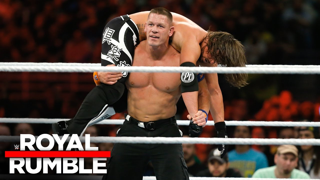 WWE John Cena AJ Styles Match Of The Year