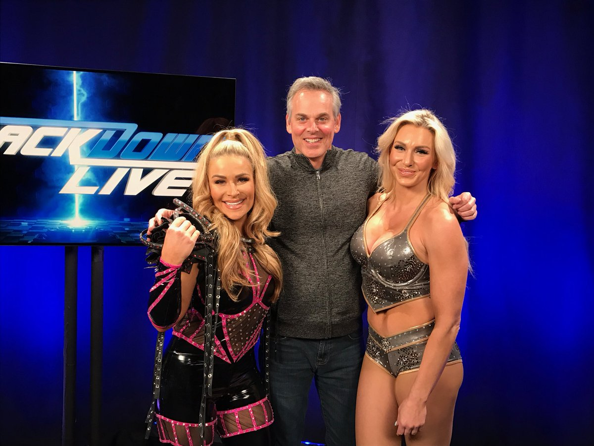 Colin Cowherd WWE Charlotte Natalya Fox