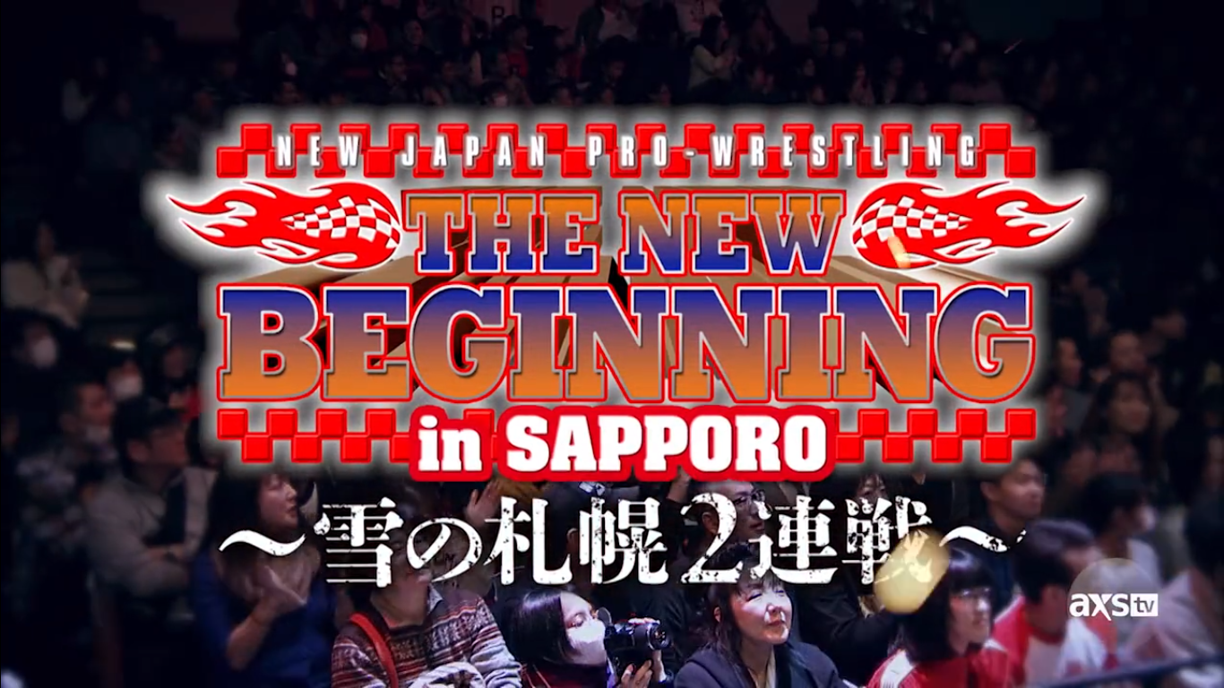 NJPW New Beginning in Sapporo Graphic