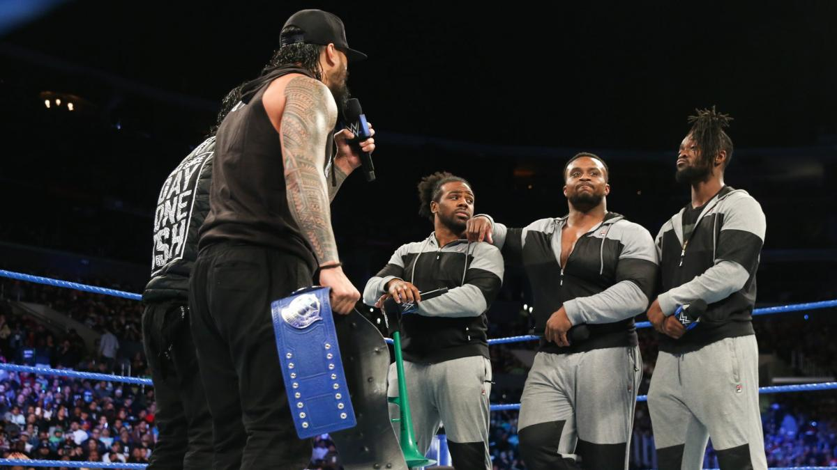 The Usos New Day WWE Smackdown