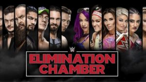 WWE Elimination Chamber Participants