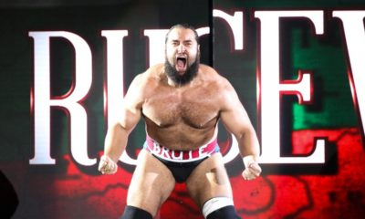 WWE Rusev Entrance