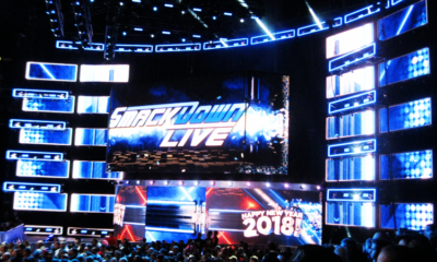 WWE Smackdown Live Stage