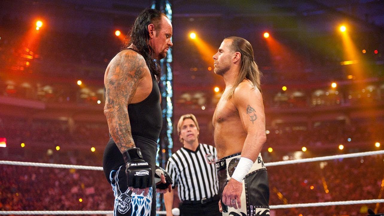 WWE The Undertaker Shawn Michaels WrestleMania 26
