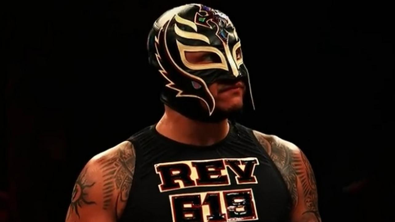 Triple A Company >> Rey Mysterio Update - The Chairshot