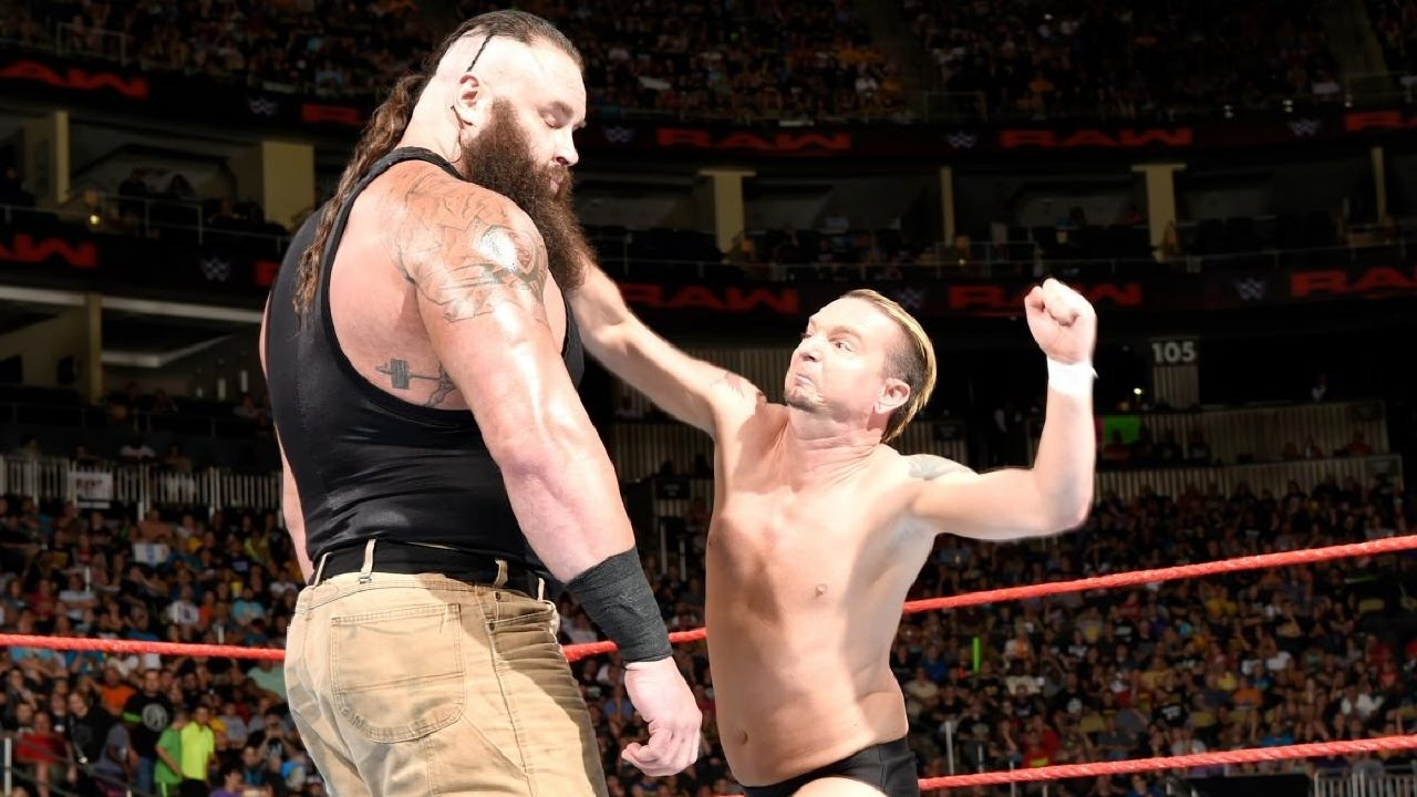 Braun Strowman James Ellsworth WWE