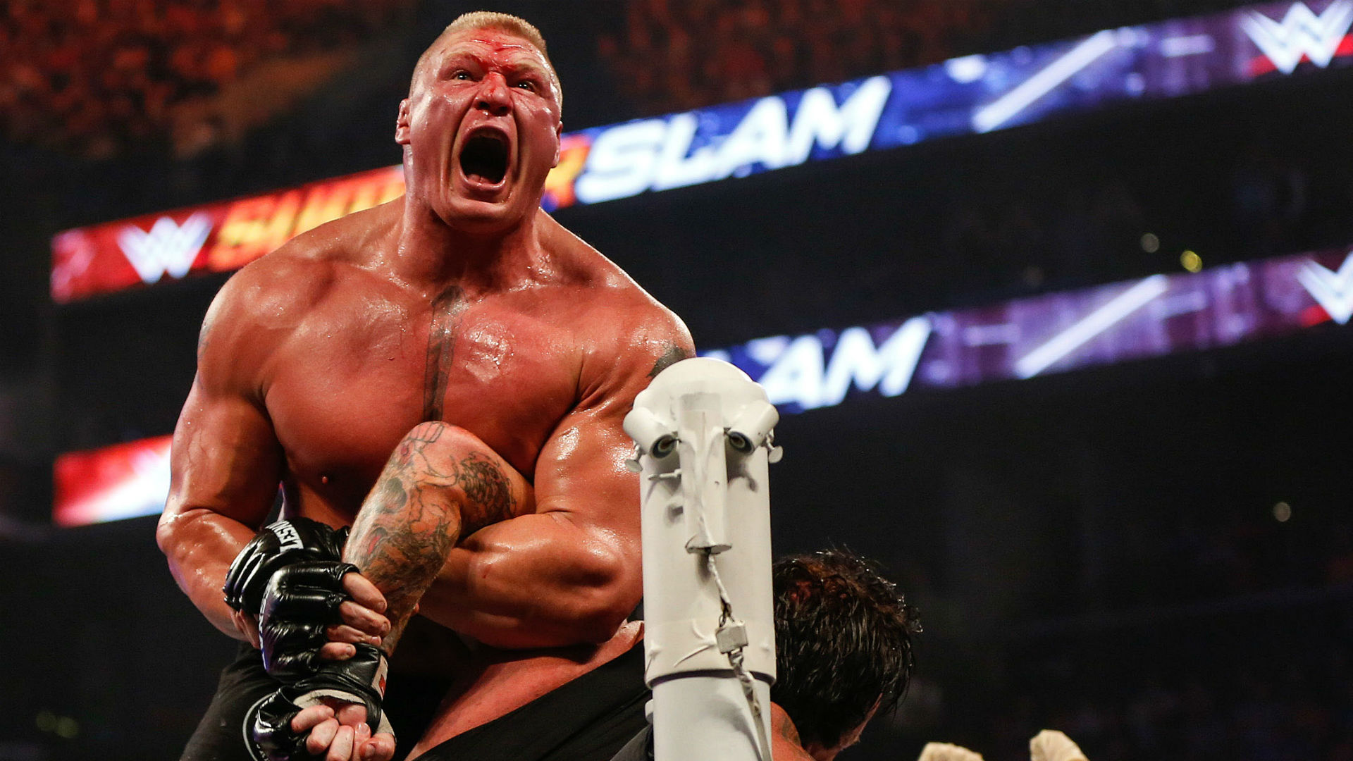 Brock Lesnar The Undertaker SummerSlam