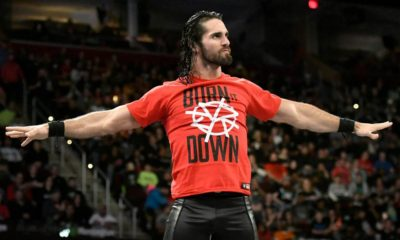 Seth Rollins Burn It Down WWE
