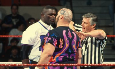 WrestleMania 11 Lawrence Tyler Bam Bam Bigelow