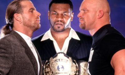 WrestleMania 14 Shawn Michaels Mike Tyson Steve Austin