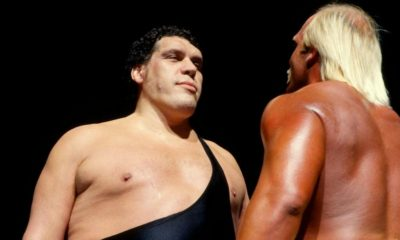 WrestleMania 3 Andre The Giant Hulk Hogan