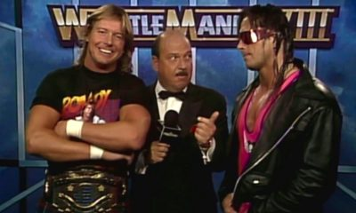 WrestleMania 8 Roddy Piper Bret Hard