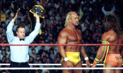 WrestleMania VI Hulk Hogan Ultimate Warrior