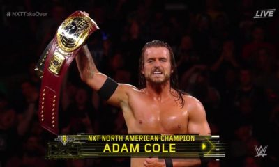 Adam Cole NXT North American Champion
