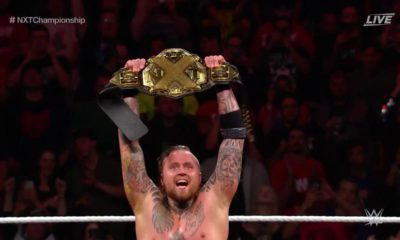 Aleister Black NXT Championship