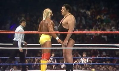 Hulk Hogan Andre The Giant WrestleMania 3
