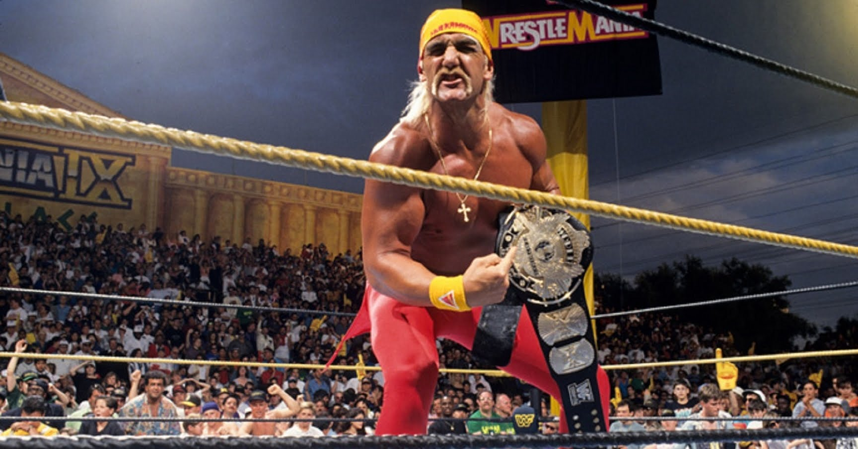 Hulk Hogan WrestleMania Undertaker