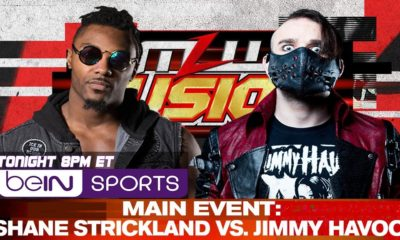 MLW Fusion Shane Strickland vs Jimmy Havoc