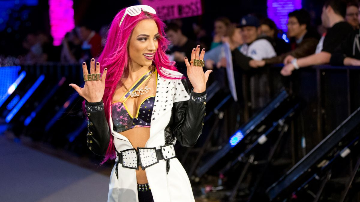 Sasha Banks WWE Queen Of The Ring
