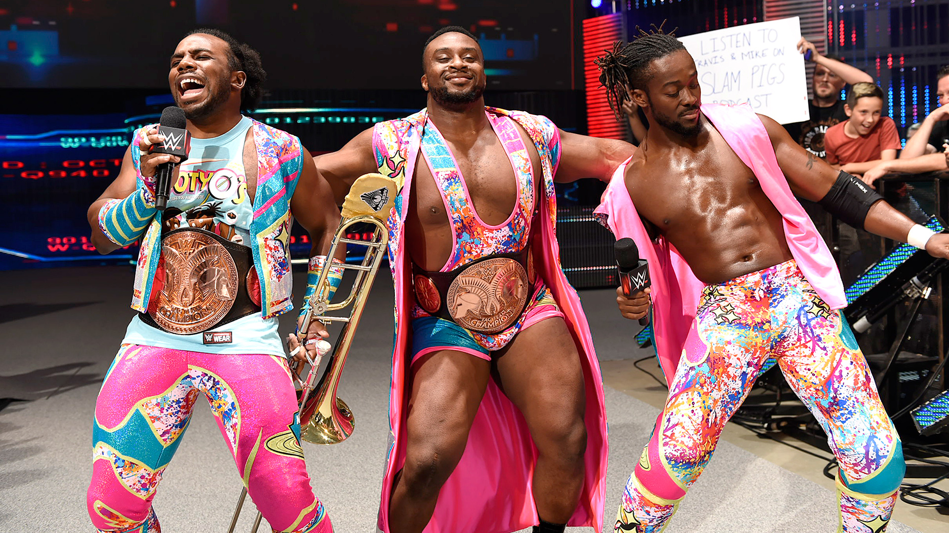 The New Day WWE Superstar Shake Up