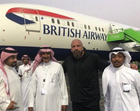 Triple H Saudi Arabia Greatest Royal Rumble