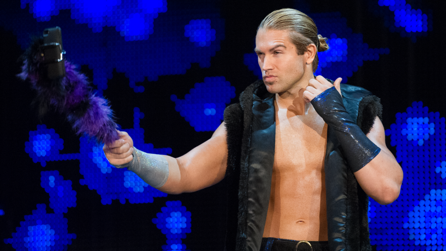 Tyler Breeze Passion WWE