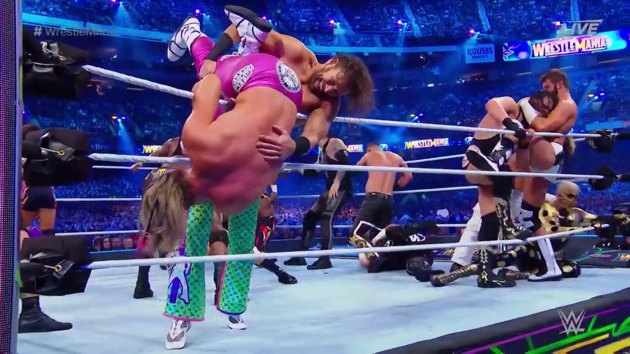 WrestleMania 34 Andre Battle Royal