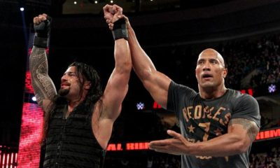 Roman Reigns The Rock Royal Rumble